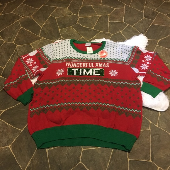 3x Ugly Christmas Sweater.Holiday Ugly Christmas Sweater Party 3x Nwt